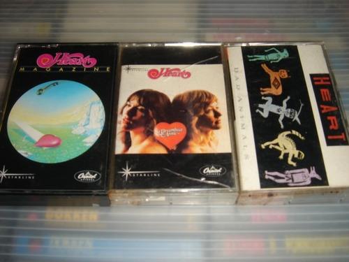 heart joan jett lita ford hard rock cassettes