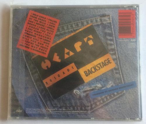 heart - rock the house live! (cd, 1991) importado u.s.a.