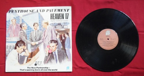 heaven 17 - penthouse and pavement en vinil.