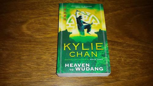 heaven to wudang - kylie chan - livro novo