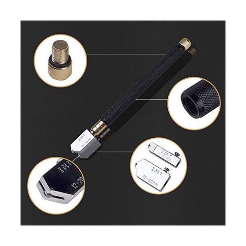 heavy duty lápiz cortador de vidrio aceite de alimentación d