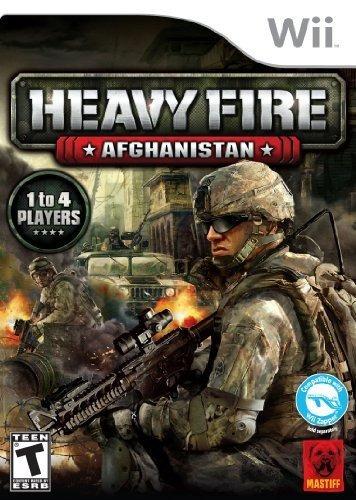 heavy fire: afganistán wii de mastiff
