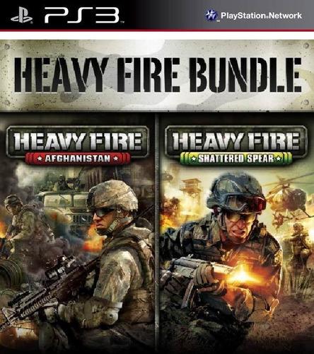 heavy fire bundle juego digital ps3