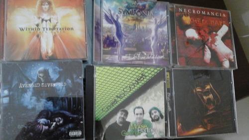 heavy metal-5 cd's impecáveis
