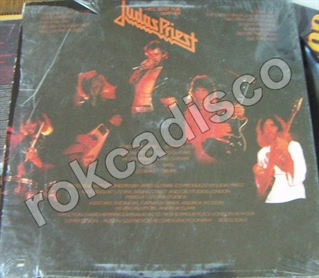 heavy metal, judas priest (hell bent for leather) lp 12´,