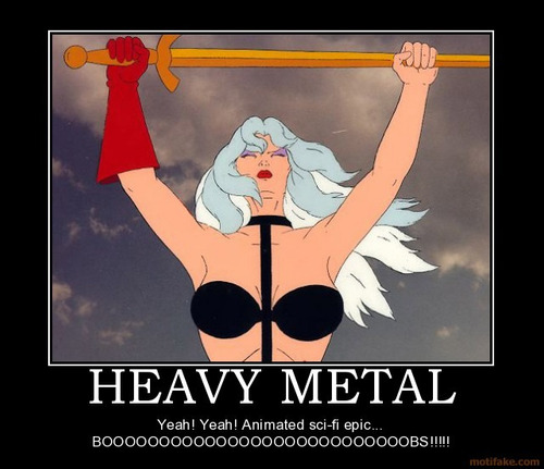 heavy metal movie y heavy metal 2000 dvd lote