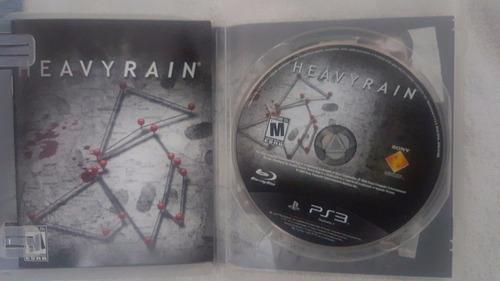 heavy rain (usado) - playstation 3