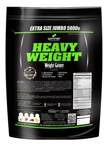 heavy weight no bigm winner nutrition masificador + regalo!