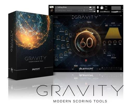 heavyocity gravity | pc - mac | - kontatk