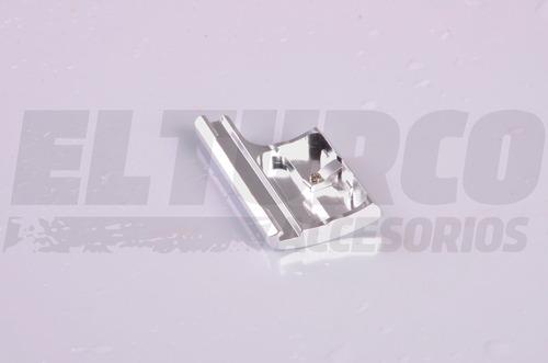 hebilla accesorio gopro 3+ 4 cierre carcasa aluminio -