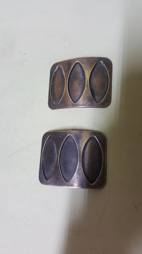 hebilla antigua en cobre hindu precio x cada una