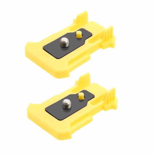 hebilla conector monturas adhesivo piezas para la cámara son