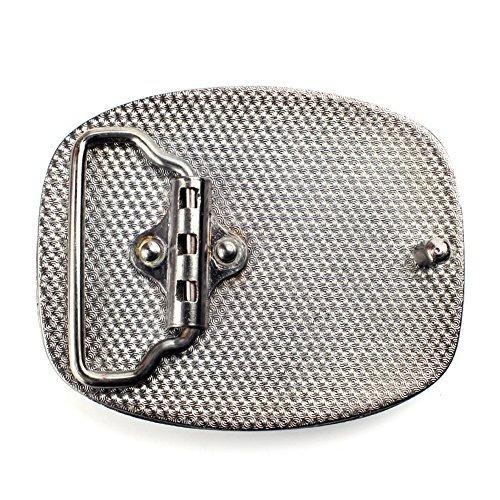 hebilla de cinturón de ágata hebillas occidentales para homb