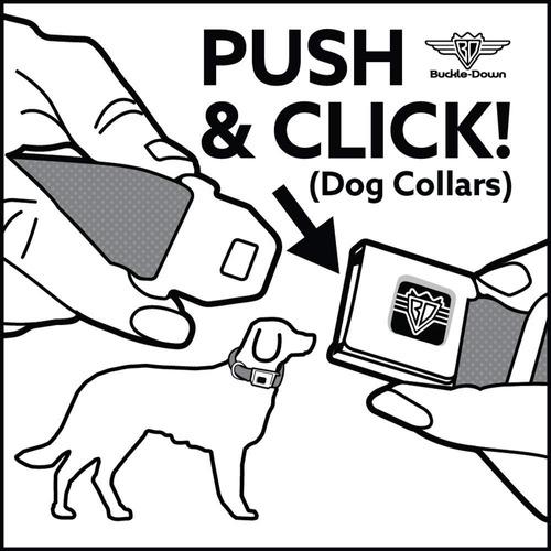 hebilla del cinturón de seguridad-cuello de perro hebilla -