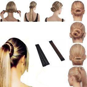 hebilla peinados rodete accesorios cabello 21cm x2