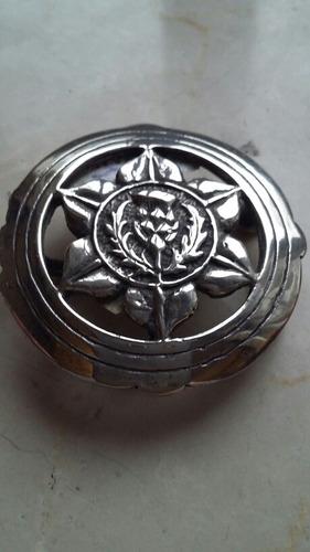 hebilla plata estrella federal  microcentro