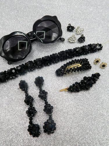 hebilla shine negro las pepas