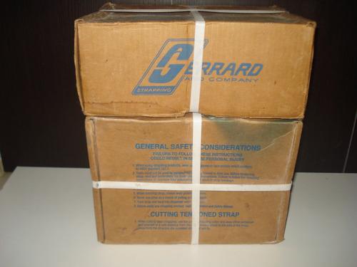 hebilla/grapa(acero inoxidable) para fleje de 1/2 y 3/4