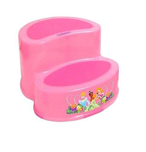 heces escalonadas,ginsey disney princesa 2-step stool..