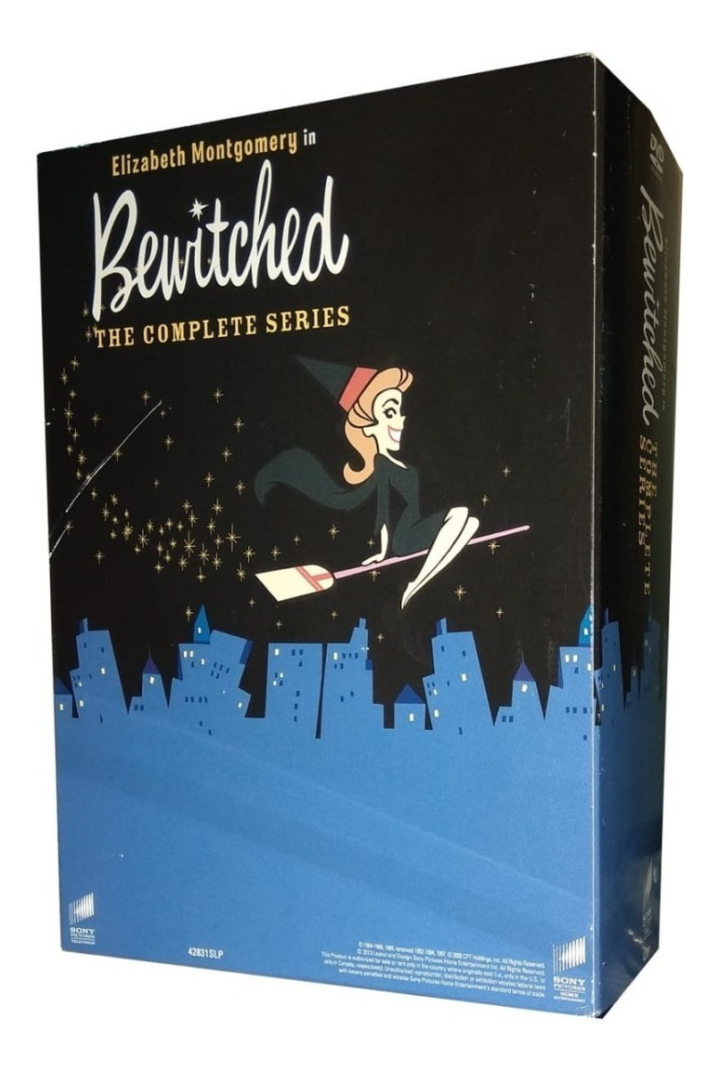 Hechizada Bewitched Serie Completa Importada Boxset Dvd