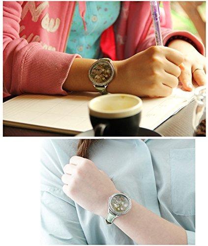 hecho a mano 3d cristales de arcilla polimerica ladies reloj