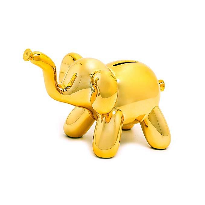 1ba2ebbbabd Hecho Por Los Seres Humanos Globo Hucha Bebé Elefante Regalo