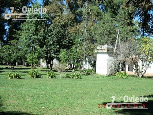 hectáreas casa 8 ha  lujan