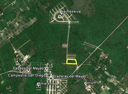 hectáreas de terreno ubicada en conkal