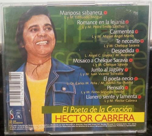 hector cabrera.  cd original usado. d12
