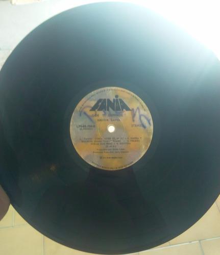 hector lavoe - de ti depende (vinyl, lp) salsa brava 1976