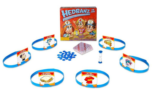 hedbanz juego mesa familiar preguntas boing toys