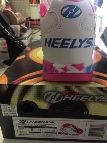 heelys tenis con ruedas   talla 20