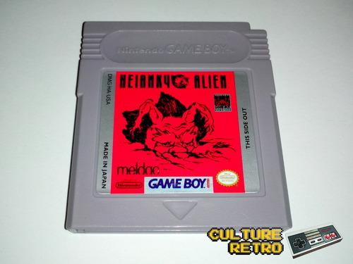 heiankyo alien. meldac. 1989. game boy. gb. nintendo.::