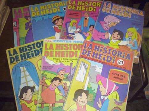 heidi lote de 18 revistas año 1978 ep anteojito billiken