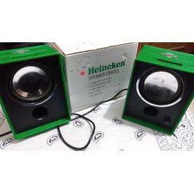 Heineken Caixa De Som Colecionável Speaker Alto Falante Mp3