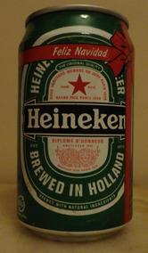 Heineken Feliz Navidad.Heineken Navidad 330ml Holanda Vacia