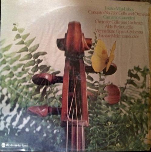 heitor villalobos concierto #2 para chelo y orqusta ( música