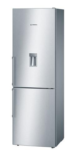 heladera 2 puertas c/freezer inferior bosch kgd36vi31 3 años