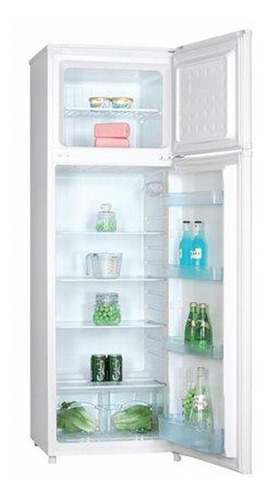 heladera 2 puertas freezer superior futura df234