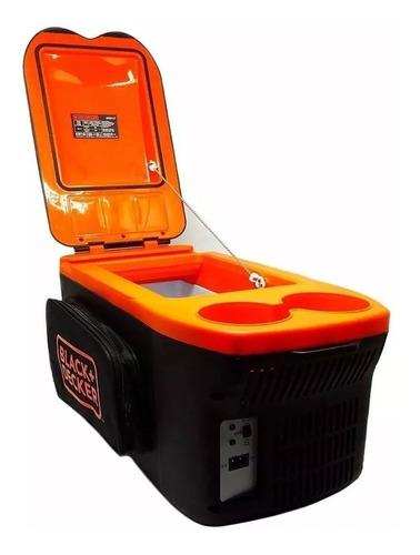 heladera auto black+decker portatil 8lt frio/calor bdc8 m m