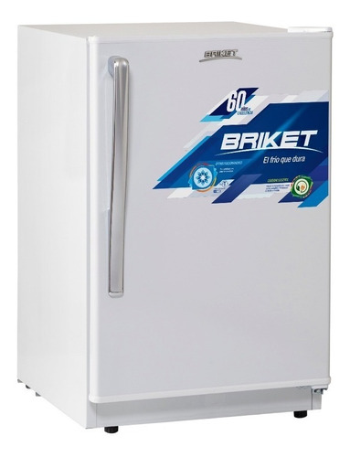 heladera bajo mesada briket 139 lts frigobar minibar colores