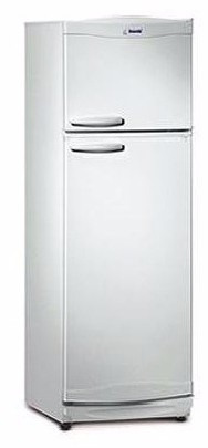 heladera bambi blanca 329 l 2f1600 con freezer nacional