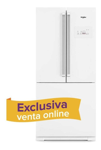 heladera blanca no frost whirlpool  541lts wro80d2