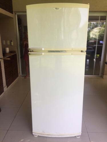 heladera c/ freezer whirlpool arb 220 390 lts. no frost