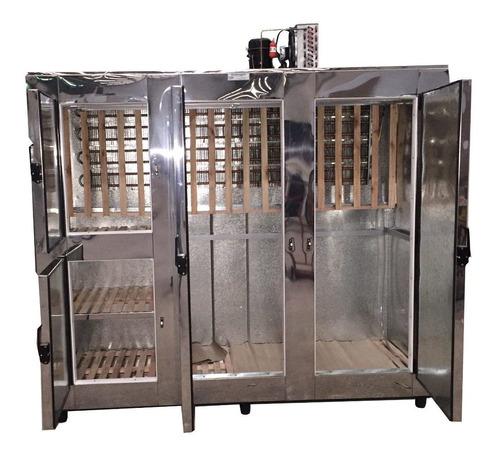 heladera carnicera acero 240, 4 puertas tipo camara 104