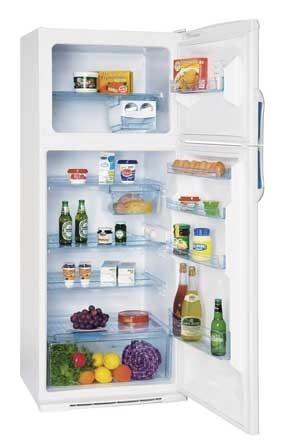 heladera columbia con freezer htf 2434 blanca 414 lts