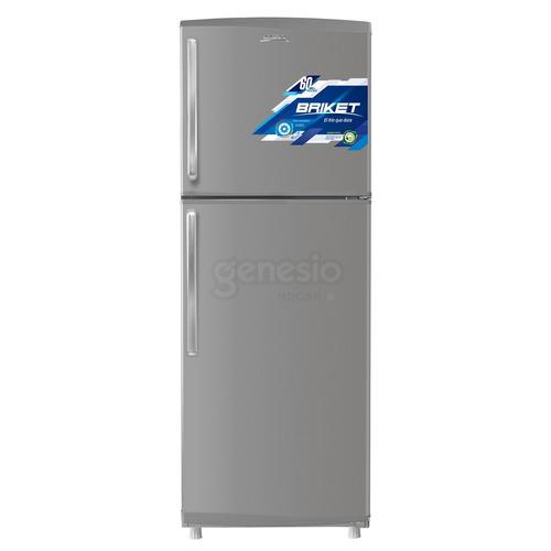 heladera con freezer briket bk2f 1820 inverter 365lts