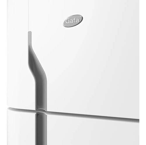 heladera con freezer gafa hgf-367 blanca 335 litros
