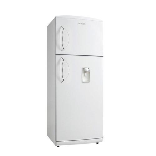 heladera con freezer  patrick hpk141  con dispenser  blanca