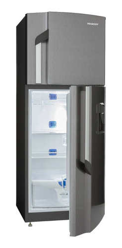 heladera con freezer peabody no frost con dispenser 257 l